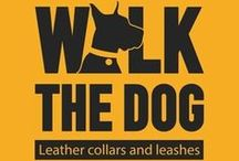 WalkTheDog Store - Etsy.com / Dog Collars,Handmade Leather Dog Collars, Dog Leashes, Leather Leashes