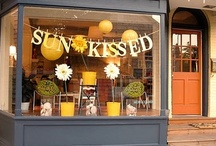 store front ideas / by Ivey Crenshaw
