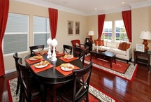 Dining Spaces / At Centex, we know the importance of family time. This is why each and every floor plans can be personalized, giving every home owner and family the ability to make the most of every room - including the dining room!