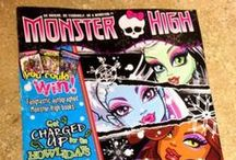 Monster High / Monster High collections, decorating ideas, and hard-to-find items. / by Amy Cawvey