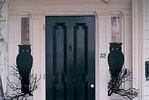 Decorated Door Ideas / Beautiful and whimsical entrance ways. Images for inspirations, many products available at http://www.trendytree.com