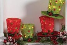 Christmas Centerpieces / Collection of beautiful centerpieces and many with products to create yourself. Visit http://www.trendytree.com / by Trendy Tree