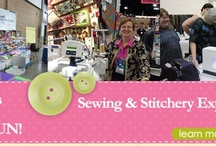 """Sewing & Quilting Events / Love Sewing & Quilting Events, Expos and Shows? Follow as Nancy Zieman, from TV's """"Sewing With Nancy"""" pins some of her favorite appearances, venues, and shows."""
