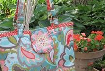 Sew Handbags & Totes / Making handbags, totes, purses, clutches, diaper bags and more using some of the Nancy Zieman tutorials and how-to posts from her popular show Sewing With Nancy.