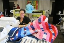 Sew To Give: Community Service Projects & Charity Sewing / Quilters and Stitchers with big hearts.  See some of Nancy Zieman's community service, charity, and outreach projects.  You can be involved.