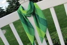 """Sew a Trendy Scarf / Love Scarves? Follow as Nancy Zieman, from TV's """"Sewing With Nancy"""" pins scarf sewing projects."""