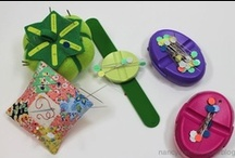 """Cute Pincushions Ideas / Follow as Nancy Zieman, from TV's """"Sewing With Nancy"""" as she pins pins.  Wait. Pins PINCUSHIONS from all over to inspire the next fun pincushion project."""