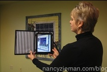"""Sew a Tablet Keeper / Have a techie in the family?  Want to jazz up your own tech device?  Nancy Zieman, of TV's """"Sewing With Nancy"""" pins some great tutorials and videos for creating stitched tech keepers."""
