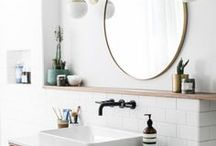 Bathroom / Lets face it, we all spend time in the bathroom, might as well be pretty! ing all the bathroom inspiration.#bathroom #inspiration #bath #decor #design