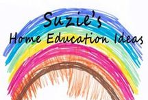 Suzie's Home Education Ideas Blog / All the pins from Suzie's Home Education Ideas blog on one board. Lots of hands-on home education ideas, activities and FREE printables.