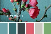 Color trends / Color trends for fabrics and home decor.