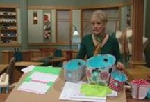 Watch Sewing With Nancy Online / Nancy Zieman, host/producer of Public TV's Sewing With Nancy, shares links to her most recent sewing and quilting TV programs.  / by Nancy Zieman