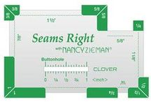 Sewing & Quilting Notions I Can't Live Without / Nancy Zieman's favorite sewing and quilting notions. / by Nancy Zieman