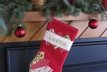 Christmas Stocking Ideas / Ideas for sewing Christmas Stockings / by Nancy Zieman