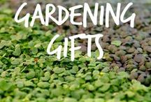 Gardening Gifts / Great gifts for gardeners young and old. Focusing on some of the more creative gifts that you may not have seen elsewhere.