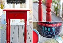 DIY paint color combinations and inspriation! /  a place to share projects using DIY paint / by Debi's Design Diary and DIY paint