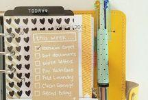 Lists/stationery  <3
