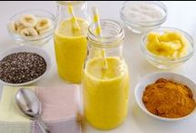 Chia Smoothies / various smoothie recipes with chia as an ingredient
