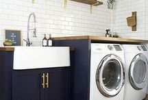 Laundry Room / We all have laundry...let's make the laundry room as pretty as possible. These laundry rooms are sure to inspire!