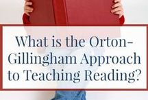 Dyslexia Intervention - Orton-Gillingham / Resources, links, articles and ideas that use the Orton-Gillingham method (Multisensory Structured Language - MSL) to teaching learners with dyslexia.