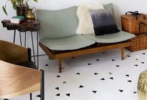 Stenciled Floors, Walls, & Ceilings / Ideas, Resources, How-to's / by Holly Perry