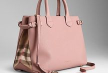 Pastel color handbags