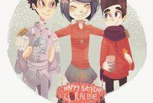 ❎ Mystery Kids! ❎ / bunch of cute, smol kids who like mysteries?