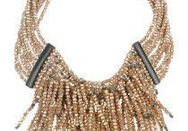 """Necklaces / """"Wearing jewely is a way to express the women you are without saying a word""""  Necklaces my passion ."""