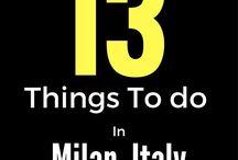 Milano city : to-do list