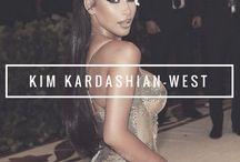 Kimberly Noel Kardashian-West /   Kim Kardashian   Born: October 21st, 1980   Husband: Kanye West   Children: North, Saint & Chicago  