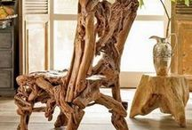 Přírodní Kresla,Židle - ( Natural Chairs )