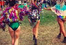 Babes in BB at Glasto