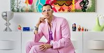 Karim Rashid ▪ World designer / Karim Rashid is one of the most prolific designers of his generation. Over 3000 designs in production, over 300 awards and working in over 40 countries attest to Karim's legend of design.