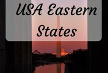 Travel - USA Eastern States / ideas, itineraries and photos for travel on the east coast of the USA