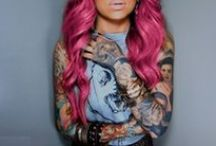 Tattoos / Inspiration for tattoos. / by Amber Rose Hair + Makeup