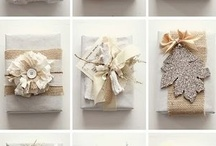 Wrapping & Cards / by Camie Schulthies