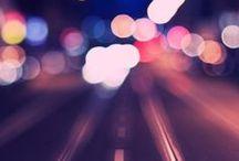 City life / City life, city by night, bokeh, photography
