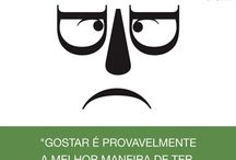 Escritores Portugueses / Righter's faces representing whith caracteres
