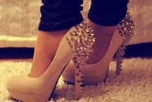 Shoes->Wedges,Stilletos,Vanz,Converse,and stuff like that