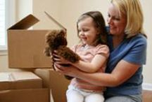 Home - moving (with kids) / by Birth With Lisa Doula Services
