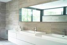 Bathroom Bliss / Bathroom design, decor, colour palettes, architectural design, furniture, bathroom trends