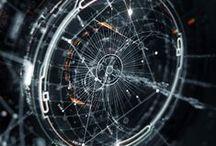 Orbital Geometry / Orbital, geometric, spherical, 3D, 4D, graphic design art