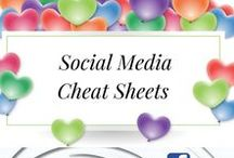 Social Media Cheat Sheet / You will find all kinds of Social Media Cheat Sheet on this board. Enjoy xx