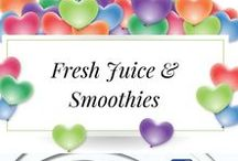 Fresh Juice & Smoothies / If You Want to Feel Great drink as much Fresh Juice as you can! Lots of vegies not just fruit and you will feel awesome, Juice On!