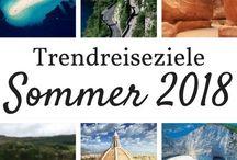 ✘ Reiseziele Sommer ✘ / Reiseziele für den Sommer gesucht? Hier findest Du die angesagtesten Reiseziele für die Sommermonate 2018!  Safe travels!