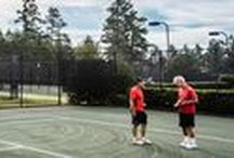 Racquet Sports / Whether you are an avid tennis player or a fan of pickleball, the Reserve Club at Woodside in Aiken, SC is the perfect place for you. Our club offers an exceptional tennis facility complete with six Har-Tru courts. We are proud to offer the only solely dedicated pickleball courts in Aiken to our members.