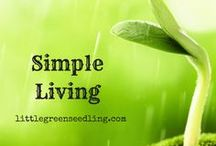 Simple Living & Minimalism / Minimalism & simplifying our lives can have so many benefits, from saving money to reducing stress. These articles discuss what is meant by simple living and how we can move towards it.