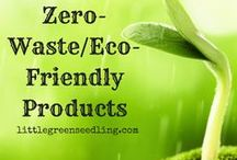Zero-Waste/Eco-Friendly Products | Great for Gifts! / Eco-friendly products to help you live a zero-waste lifestyle - and possibly save money too! They make great gifts for environmentally conscious people. The links used are affiliate links. If you buy through the links, I may receive a commission for the sale. This has no effect on the price for you! :)