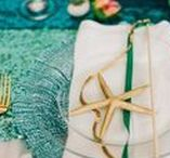 Deco mariage coquillage et étoile de mer / Shell and starfish for your beach wedding
