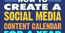Social Media Marketing Tips / #SocialMediaTips: Tips, infographics, social media insights, social calendars. All you need to know to create a #SocialMediaMarketing strategy.